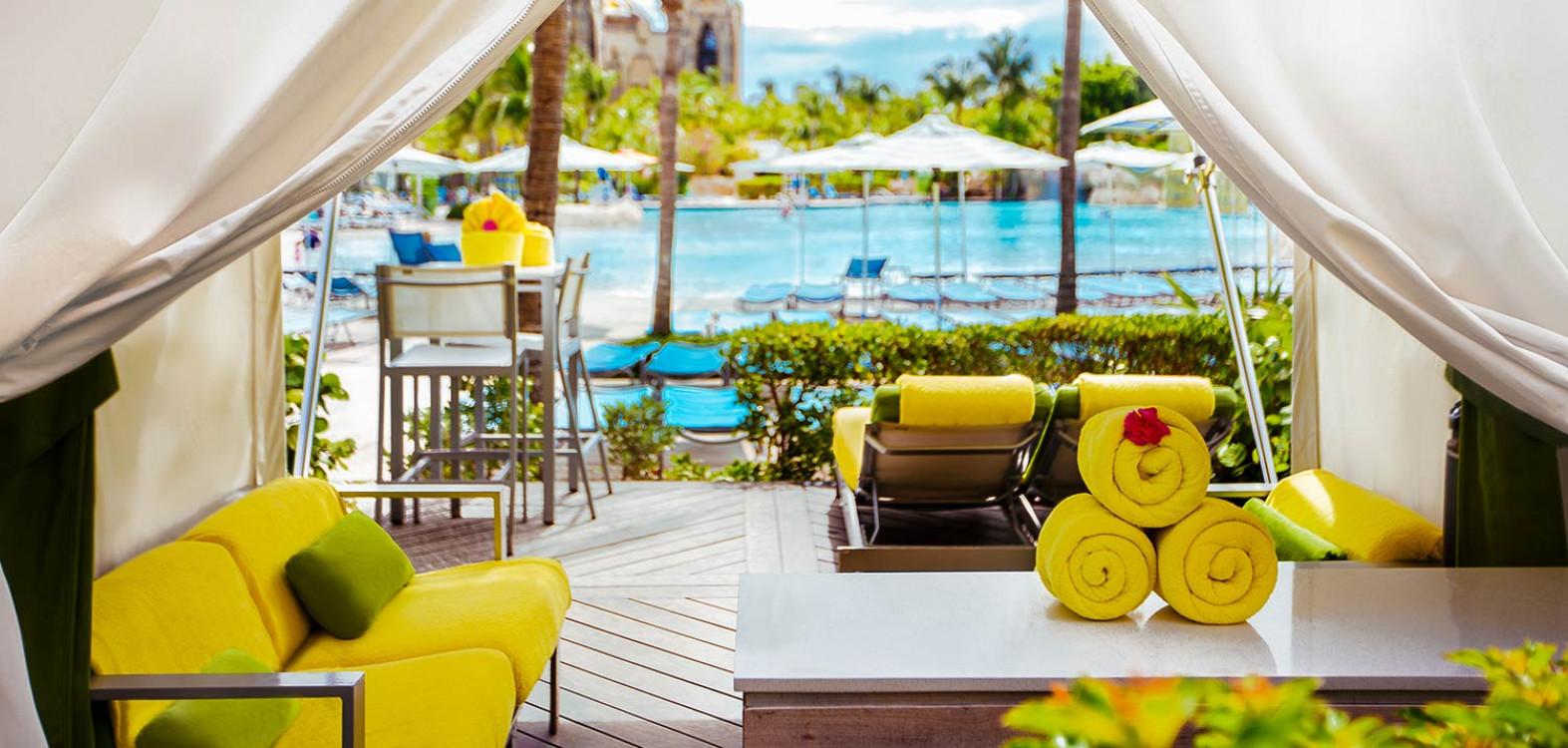 Private Pool Cabanas | Atlantis Paradise Island