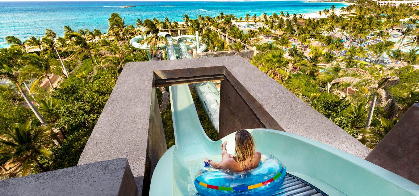 Water Slides at Aquaventure Bahamas | Atlantis Paradise Island